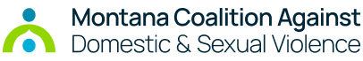 Montana Coalition Against Domestic and Sexual Violence logo color